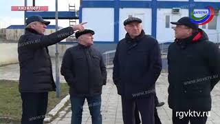 Врио премьер-министра РД посетил ряд социально значимых объектов в Кизилюрте