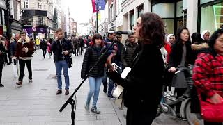 Alice Tunney Live Cover of Jimmy on Grafton Street Video