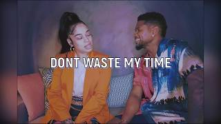 Usher - Don't Waste My Time ft. Ella Mai (Subtitulado Español)