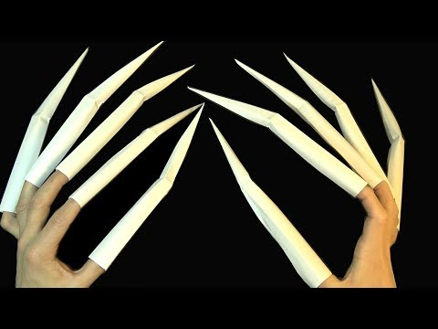 How To Make Extra Long Creepy Spider Claws