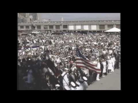 USS Hopper Commissioning (1997) - Part 1