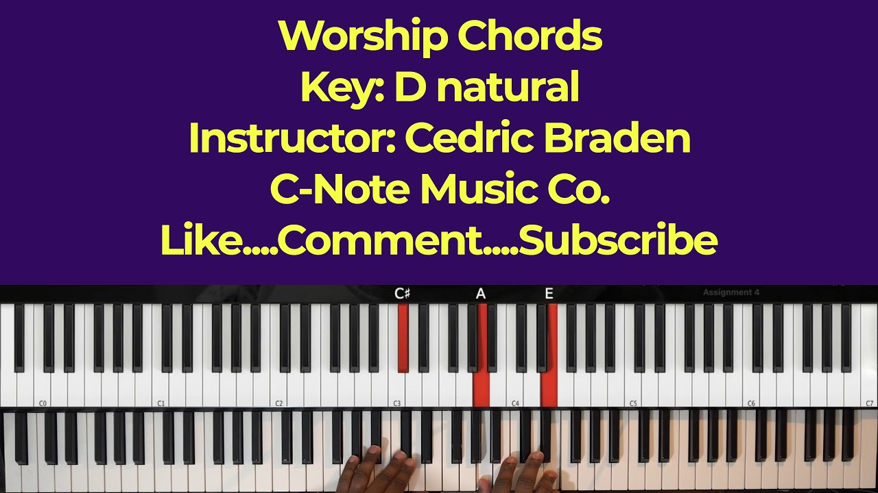 easy-worship-chords-cedric-braden