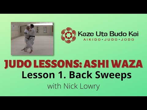 Judo   Ashi Waza  Lesson 1