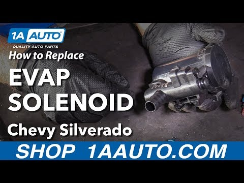 How to Replace EVAP Solenoid 07-13 Chevy Silverado