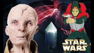 What can the Ewoks Cartoon tell us about Snoke? Is Snoke's Black Ring the Sun Star?