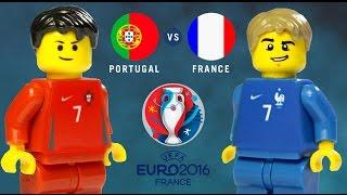 LEGO Euro 2016 Final PORTUGAL - FRANCE
