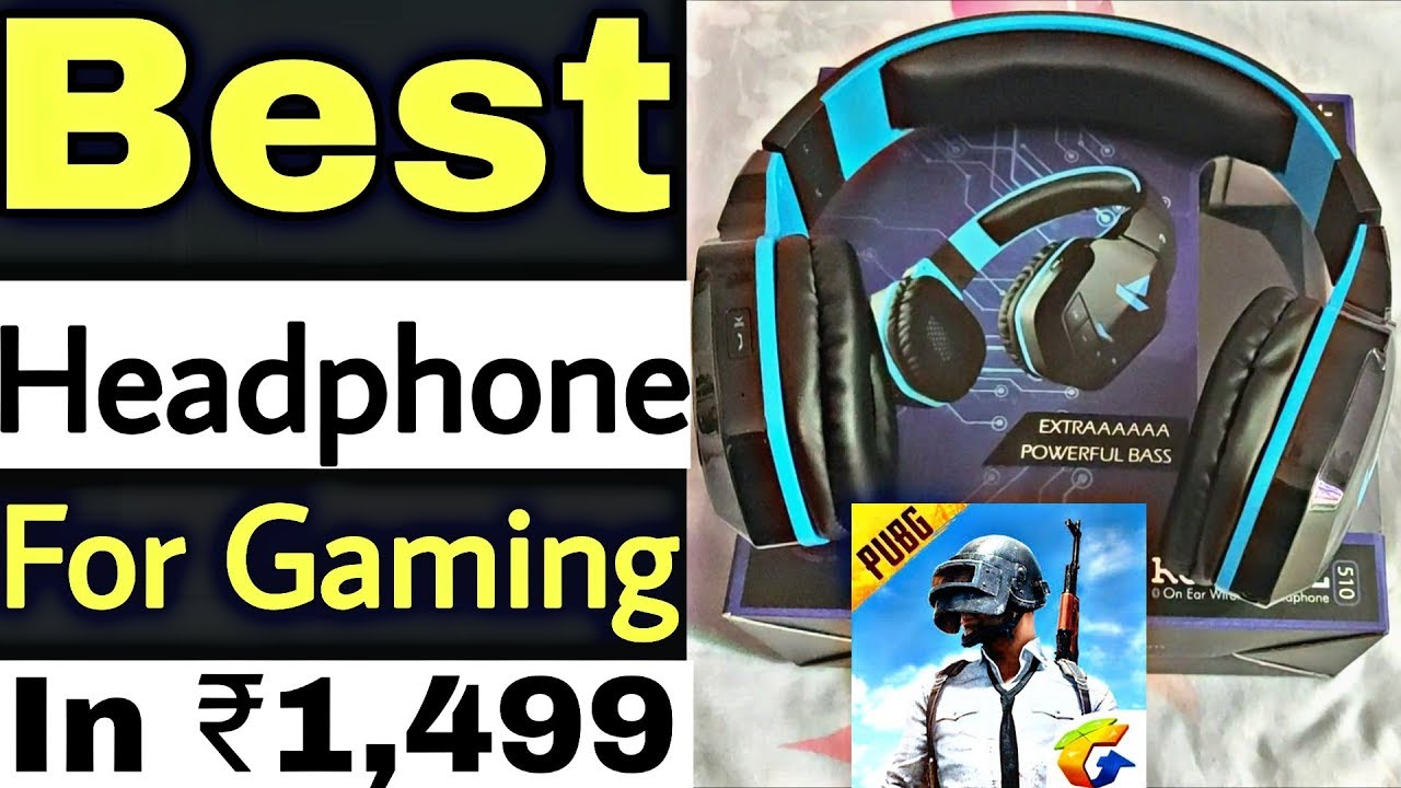 Best Headphone For Pubg Gaming Under 1500 Boat Rockerz 510 Review Youtube