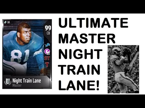 WE GOT ULTIMATE MASTER NIGHT TRAIN LANE! THE GRIND IS OVER - MUT 18