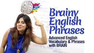 Useful English Phrases with 'BRAIN' for daily conversation | Fluent English Speaking Practice Lesson