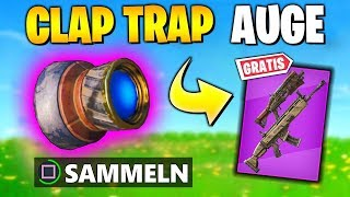 FREE ITEMS 🎁 Claptrap Eye & Chamber Symbols | Fortnite Pandora Tasks German