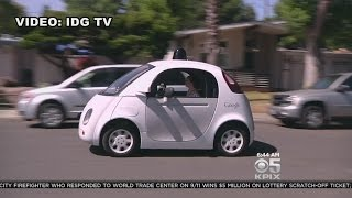CloseUp Look At Google's SelfDriving Car