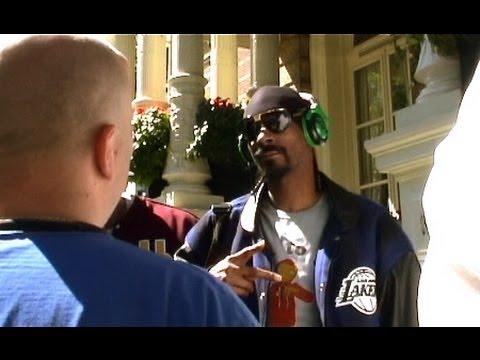 Snoop Dogg Bij het Amstel Hotel Amsterdam