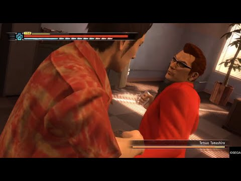 Yakuza 3 Remastered Boss Fight 3: Tetsuo Tamashiro NO DAMAGE (Legend) |