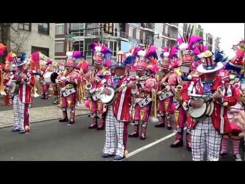 Philadelphia Mummers Parade 2013
