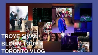 Troye Sivan Bloom Tour (concert + Toronto vlog)