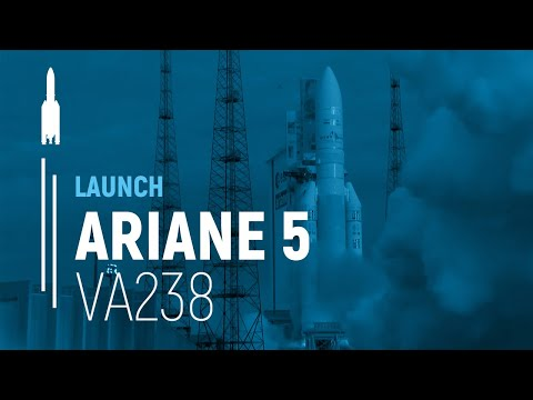 Arianespace Flight VA238 / Hellas Sat 3-Inmarsat S EAN and GSAT-17