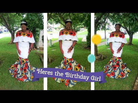 Afric-Style Unfold your creativity *Birthday Dress*