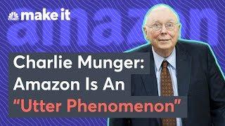 Berkshire Hathaway's Charlie Munger: Amazon Is 'Utter Phenomenon'