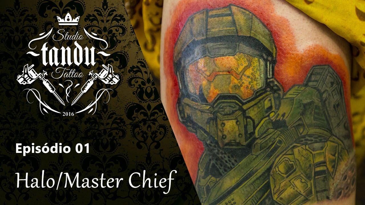 Tandu Tattoo Ep02 Halo Master Chief Youtube