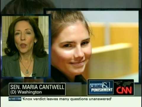Amanda Knox 2009-12-07 CNN - AC360 Part.1/2
