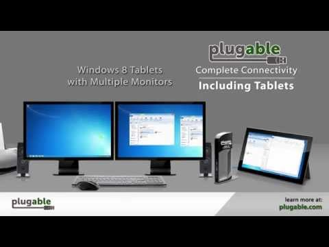 Plugable USB 3.0 Universal Docking Stations