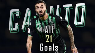 🇮🇹 Francesco Caputo - All 21 Goals for Sassuolo - 19/20 HD