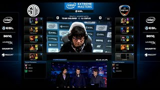 Team Solomid TSM vs CJ Entus | Round 2 Group B IEM World Championship Katowice LoL 2015 | TSM vs CJ