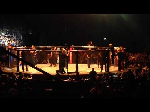 Bruce Buffer Introductions Holly Holm vs Bethe Correia UFC Fight Night Singapore