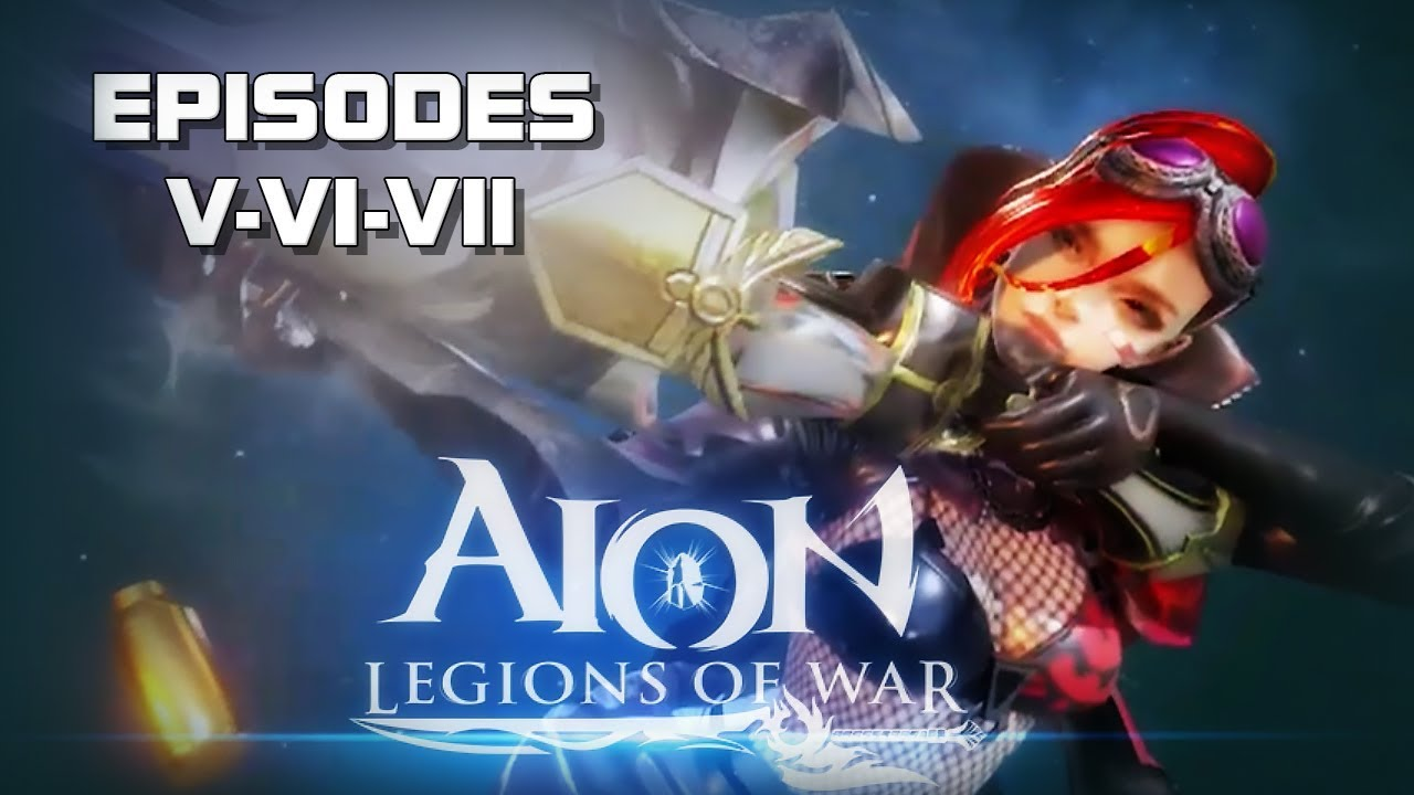 Aion: Legions of War - Episode 5-6-7 Gameplay - Android on PC - Mobile -  F2P - EN