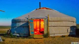 Traditional Portable Habitation   Mongolian Yurt, Ger