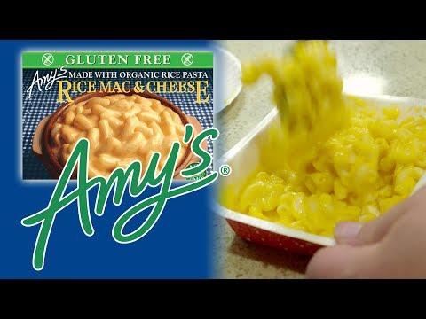 BoxMac 91: Amy's Frozens (Gluten Free, Dairy Free, and Organic)