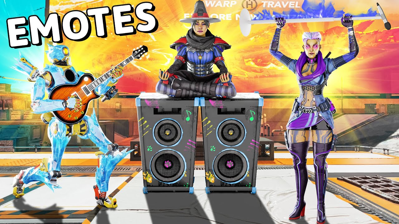 Download *NEW* Ground Emotes are CRAZY!! | Apex Legends WTF Moments #740