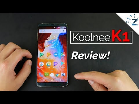 Koolnee K1 Unboxing & Full Review! This phone is Beautiful!