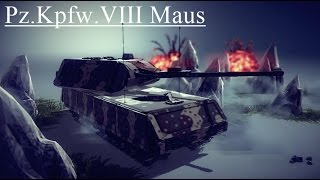 Besiege Build#78 Pz.Kpfw VIII - Maus [sasha petrowski request]