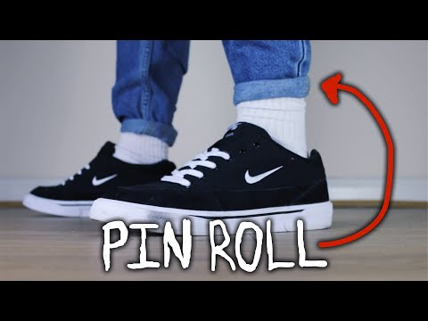 HOW TO PIN ROLL JEANS. http://bit.ly/2zwnQ1x