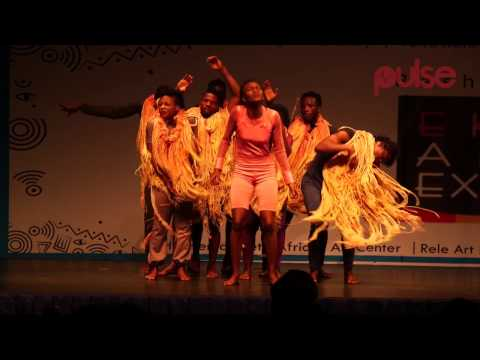Stage Play Meets Art Exhibitions At The Rasheed Gbadamosi Eko Art Expo | Pulse TV