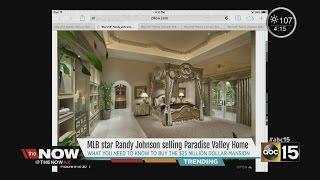 Randy Johnson, former Arizona Diamondbacks player, puts $25 million home market