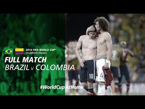 #WorldCupAtHome | Brazil V Colombia (Brazil 2014)