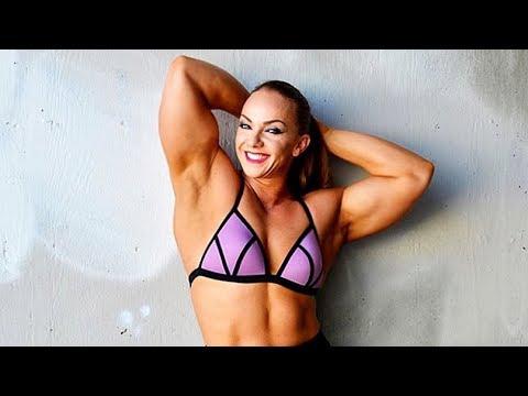 Fbb Muscles Girl | Natasha | Female Bodybuilding | Gym Workout