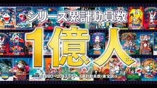 [映画ドラえもん]シリーズ累計動員数1億人突破記念 スペシャル動画