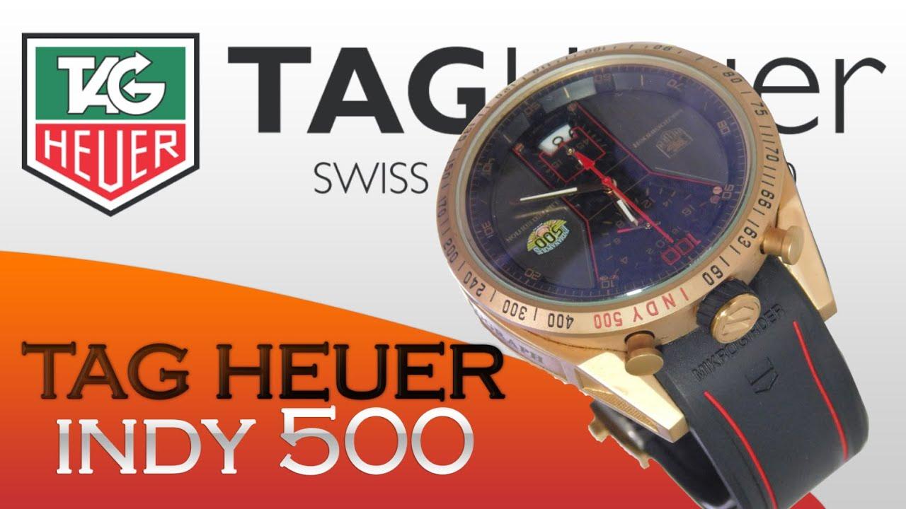 a3243621ab9 Relógio Tag Heuer carrera indy 500