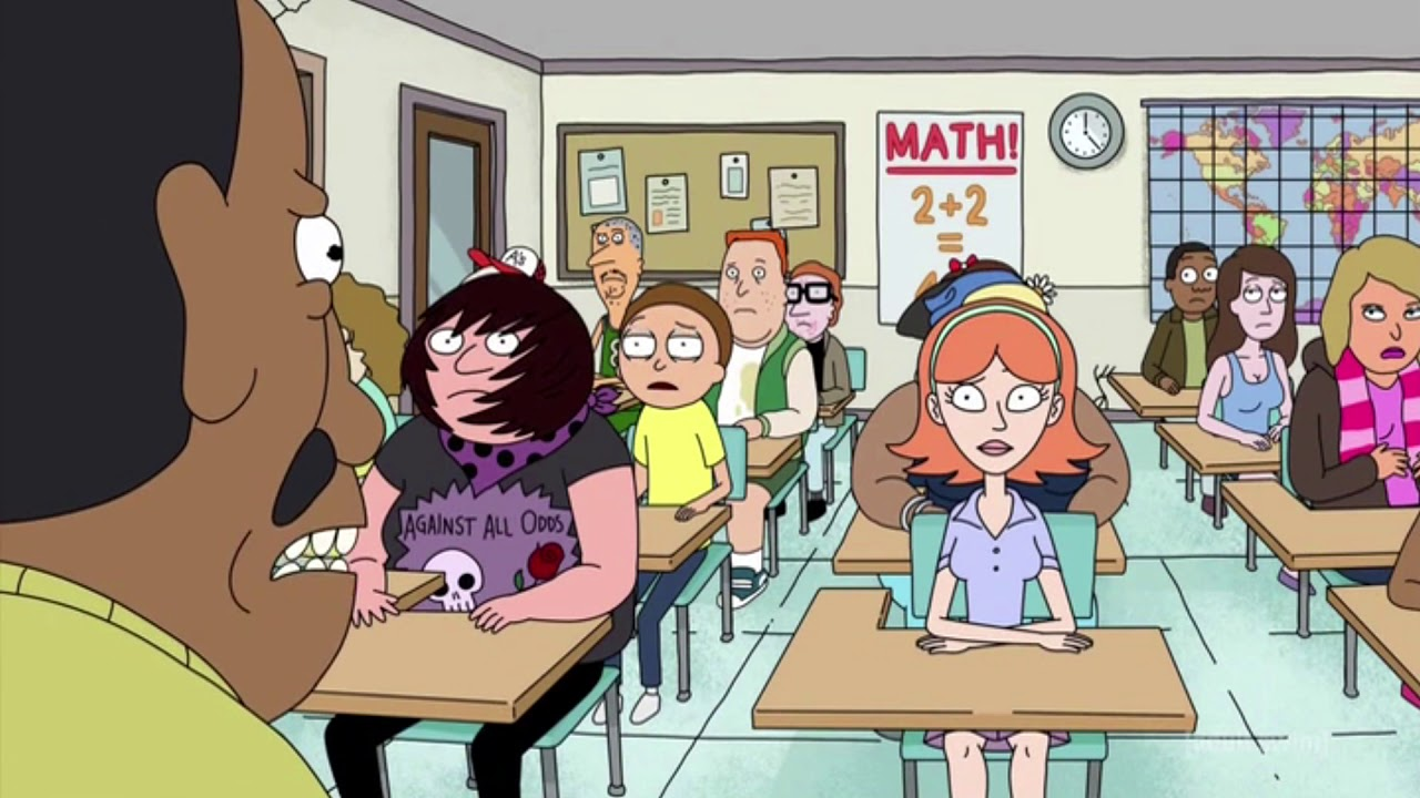 Sex Addicted Math - Rick And Morty - Youtube-7062