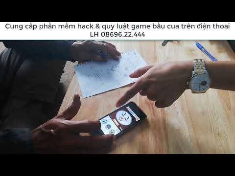 phan mem hack game online tren dien thoai - Bắt quả tang mua bán phần mềm hack bầu cua bịp trên điện thoại của 2 dân chơi SG