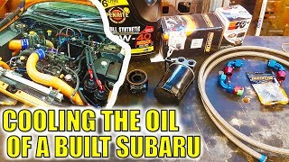 BUILT SUBIE OIL COOLER SETUP IMPROVEMENTS - THE CARROT BUILD