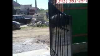 Распашные ворота привод FAAC 391 ВСЕМ ВОРОТА(, 2013-06-03T18:33:35.000Z)