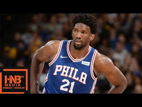 Toronto Raptors vs Philadelphia Sixers 1st Half Highlights / Jan 15 / 2017-18 NBA Season