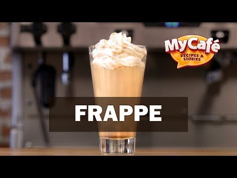 Caramel Frappe Recipe from My Cafe and JS Barista Training Center