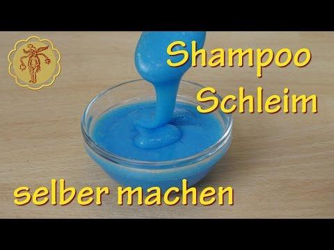 Shampoo-Schleim selber machen - ohne Kleber