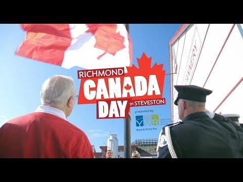 Richmond Canada Day In Steveston 2017