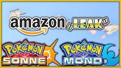 """AMAZON.COM """"LEAK"""" + KLEINE DISKUSSION - Pokémon Sonne & Pokémon Mond"""